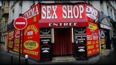 İstanbul'da erotik shopta büyük şok