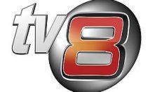 TV8'de istifa