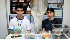 Genç araştırmacılar projelerini sergiliyor