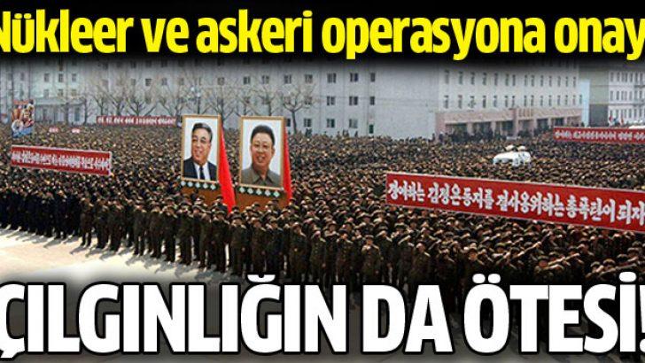 Kuzey Kore ordusu: ABD'ye askeri operasyon için nihai onay aldık