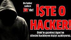 Agos'un sitesini çökerten hacker bulundu!