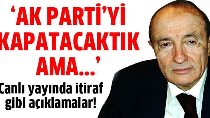 Savaş: Ecevit AK Parti'yi kapatmamıza engel oldu