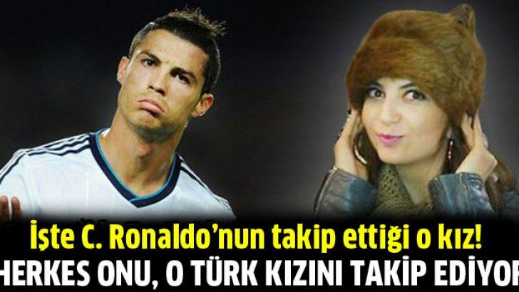 C. Ronaldo Filistin için Ezgi'yi takipte