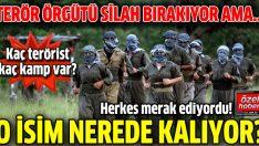 İşte PKK'nın yurtiçindeki kamp ve mensup sayısı