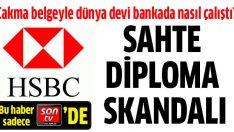 Sahte diplomayla HSBC'yi kandırıp işe girdi