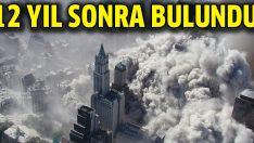 11 Eylül saldırısını gerçekleştiren uçağın parçası bulundu