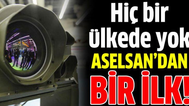ASELSAN'dan bir ilk: İnsansı kamera