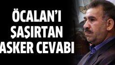 Abdullah Öcalan'ı şaşırtan asker cevabı