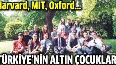 Onlar Türkiye'nin altın çocukları!