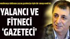 Mahmut Övür: 'Yalancı ve fitneci 'gazeteci'