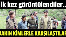 Piknikçiler PKK'lı grup ile karşılaştı