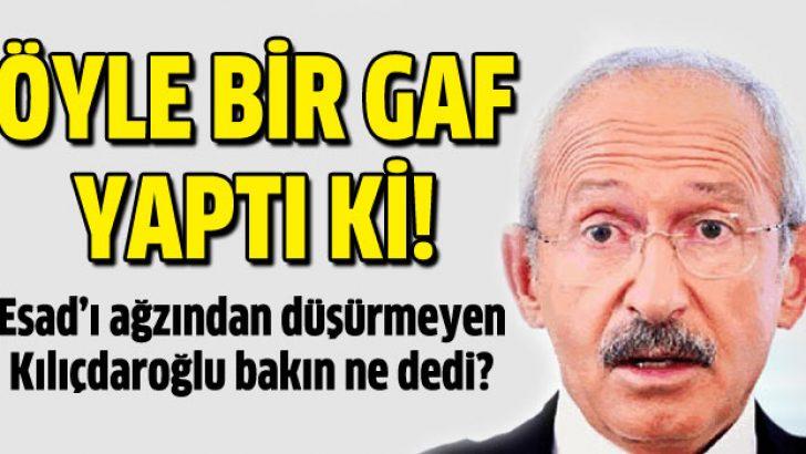 Kılıçdaroğlu'ndan yeni gaf: Saddam