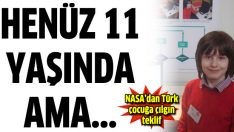 11 yaşındaki Türk çocuğa 'Mars' teklifi