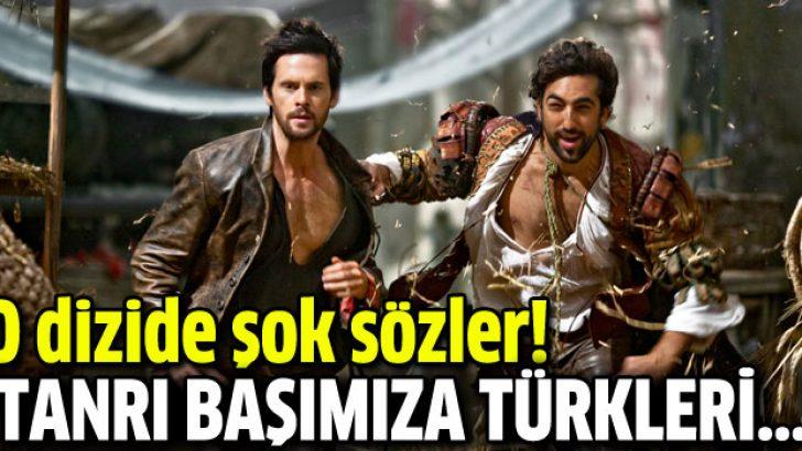 Da Vinci dizisinde Türkler için şok sözler!
