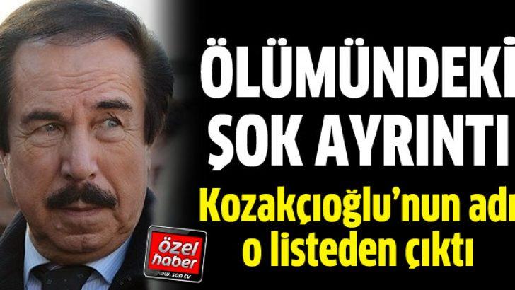 Kozakçıoğlu'nun adı DHKP-C'nin ölüm listesinden çıktı