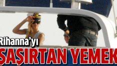 Rihanna'ya Türk işi yemekler