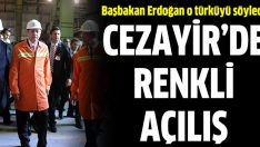 Erdoğan'dan Cezayir'de türkülü açılış