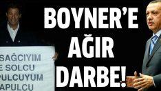 Başbakan Erdoğan'dan Boyner'e ağır darbe