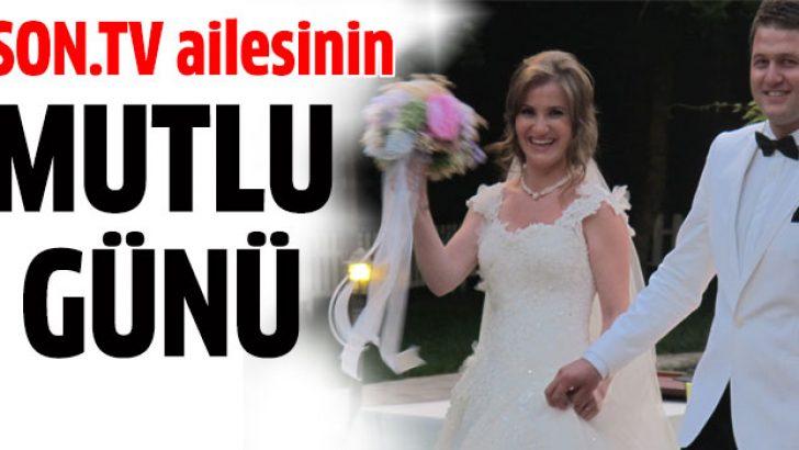 Emine Bostancı-Cihan Altunbay çifti evlendi