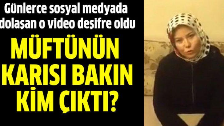 Müftü eşiyim diyen kadının CHP'li kimliği deşifre oldu