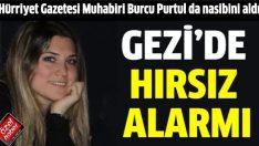Gezi'de Marjinaller gitti hırsızlar geldi