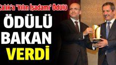 Ahmet Çalık'a 'Yılın İşadamı' Ödülü