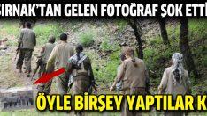 Şırnak'tan gelen PKK'lıların fotoğrafları şok etti