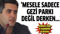 Mehmet Ali Alabora 8 maddelik açıklamayla kendini savundu
