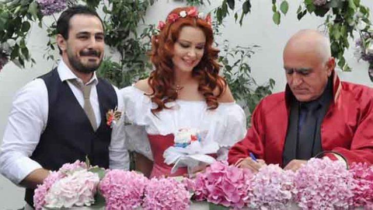 Ayçin İnci evlendi