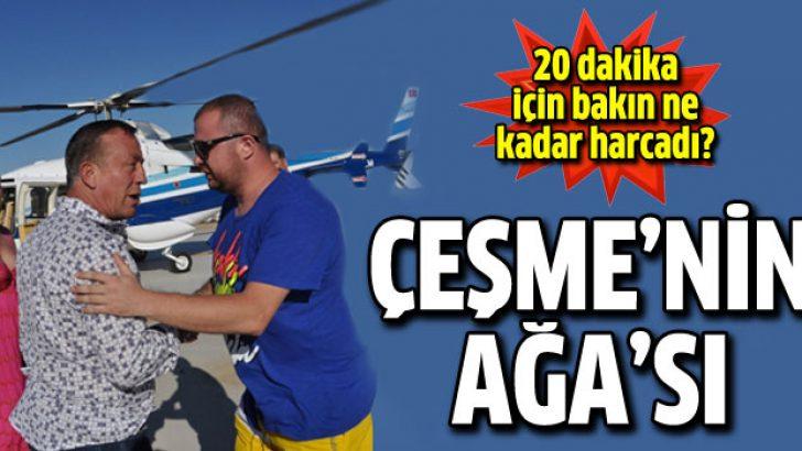 Ali Ağaoğlu 20 dakika için 30 bin TL harcadı