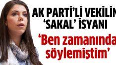 AK Parti'li vekil Gündeş Bakır: Sakal mı bırakayım?