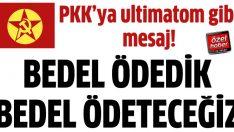DHKP-C'den PKK'ya sosyal medya üzerinden ultimatom!