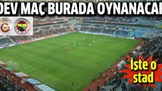 Süper Kupa maçı Kayseri Kadir Has Stadı'nda oynanacak