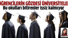 Bu üniversiteleri seçenler işsiz kalmıyor!