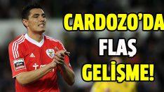 Oscar Cardozo'da son dakika