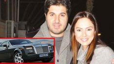 Türkiye'nin en pahalı arabasına Ebru Gündeş binecek