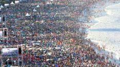 3 milyon kişiye vaaz