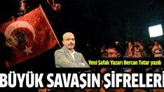 Bercan Tutar: 'Türkiye'yi kim yönetecek'