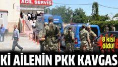 Diyarbakır'da iki ailenin PKK çatışması: 8 ölü