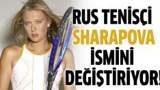 Maria Sharapova yeni ismini açıkladı