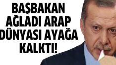 Erdoğan ağladı Araplar ayağa kalktı