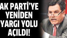 Haşim Kılıç AK Parti'nin kapatılma davasıyla ilgili konuştu