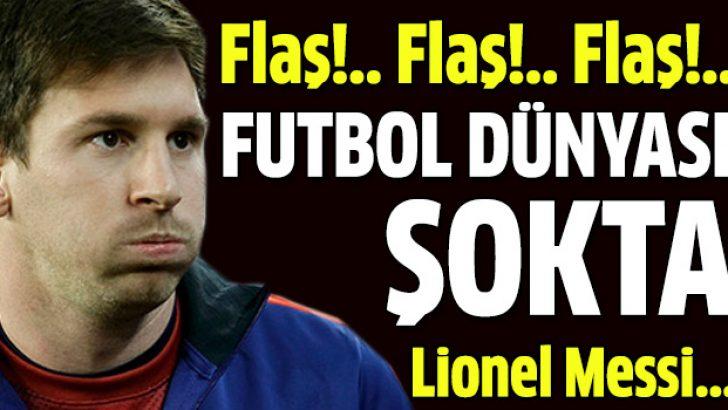 Messi'nin kasları eriyor