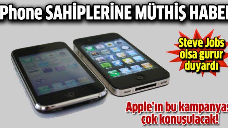 iPhone sahiplerini sevindirecek haber