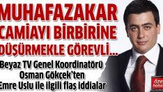 Osman Gökçek: Uslu'nun cemaat ile alakası yok, fitne çıkarmaya çalışıyor