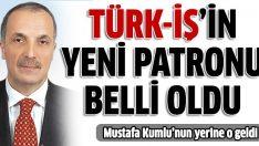 Türk-İş'in yeni patronu Ergun Atalay