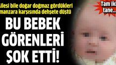 Doğar doğmaz ailesini şok eden bebek