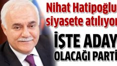 Nihat Hatipoğlu Ak Parti'den aday