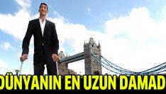 Dünyanın en uzun boylu adamı evleniyor