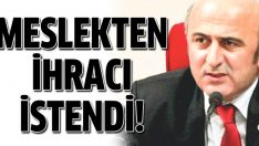 Ömer Faruk Eminağaoğlu'nun ihracı istendi